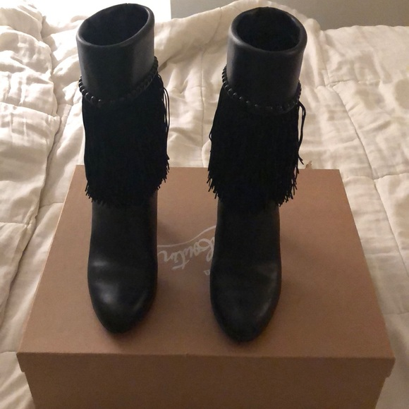 37389c14cd27 Christian Louboutin Shoes - Christian Louboutin Tudor Joplin 70mm Boots